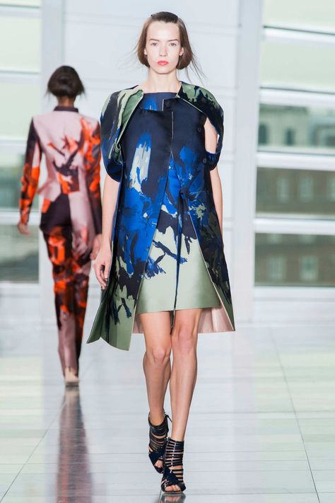 Antonio Berardi Spring 2015 London Fashion Week Show