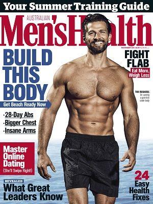 Menshealthau Magazines Covers November 2016 Health Fitness Body Build Training Summer Mens Health Magazine Mens Health Men S Health