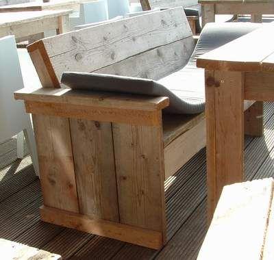 Gartenbank holz selber bauen  gartenbank selbst bauen | Ungewöhnliche Gartenideen | Pinterest ...