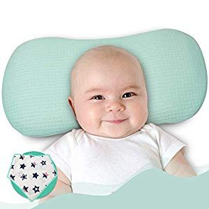 Baby Toddler  Pillow Cotton Cushion Anti Flat Head Neck Cushion Sleeping Support