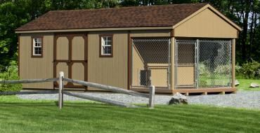 Hottest Pictures Large Dog Kennels And Dog Runs Climate