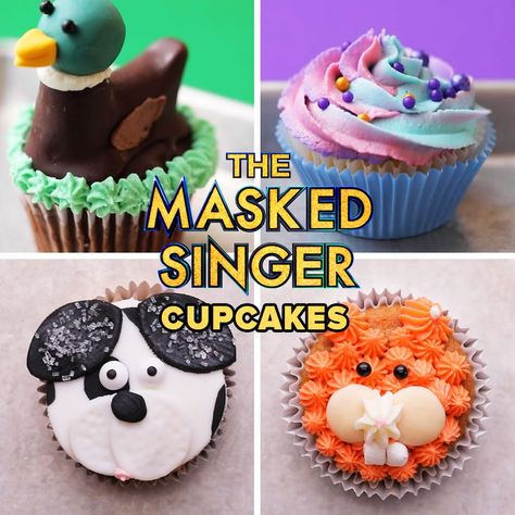 These cupcakes got glammed up to celebrate the new season of The Masked Singer and so should you! Don't miss the 2-night season premiere Wednesday, Sept. 22, and Thursday, Sept. 23 at 8/7c only on FOX!