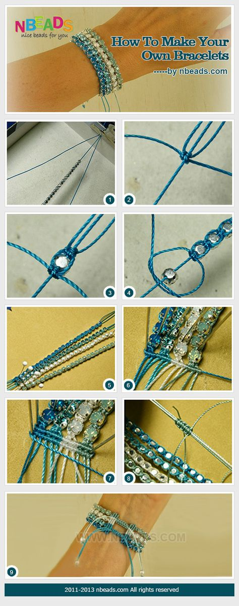 how to make your own bracelets