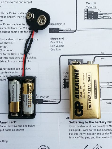 Emg 24 Volt Solderless Active Pickup Mod For 60 81 85 And 89