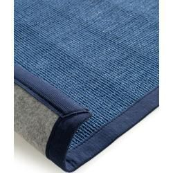 Benuta Naturals Teppich Sisal Dunkelblau 150 150 Cm Naturfaserteppich Aus Sisalbenuta De In 2020 Sisal Carpet Natural Fiber Carpets Natural Carpet