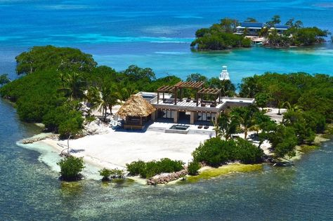 If you thought holidaying on your own private island was exclusively for the rich and famous, think again. From Tanzania to Dorset, MailOnline has scouted out the best fantasy island getaways. Beautiful Islands, Beautiful World, Beautiful Homes, Beautiful Places, Vacation Places, Dream Vacations, Maui Vacation, Belize, Island Villa