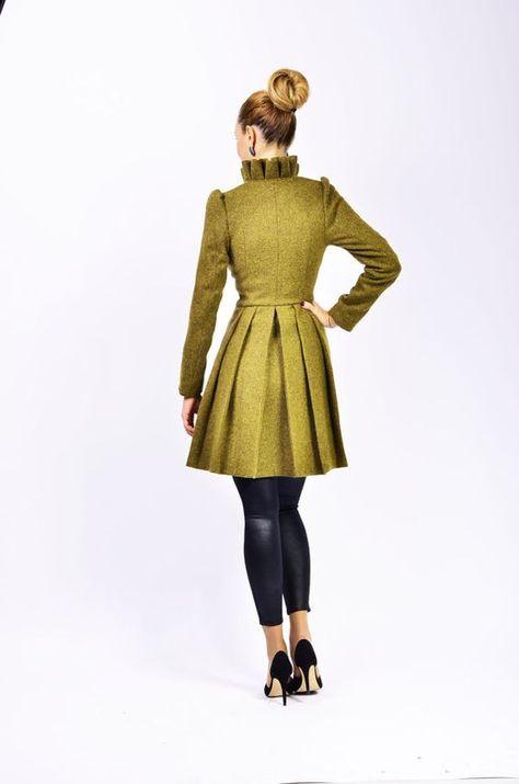Lena 2 jacket by lauragalic on Etsy