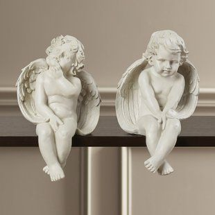 Angels Cherubs Statues Sculptures You Ll Love Wayfair Statue Horse Figurine Buddha Figurine