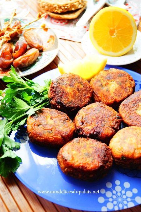 Maakouda au thon recette facile pour Ramadan