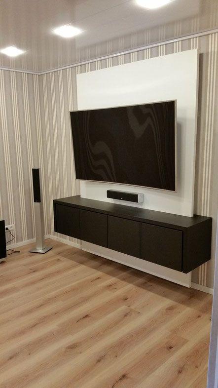 Referenzen - TV WALL TV Wand Fernsehwand aus Schreinerhand - wohnideen tv wand