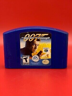James Bond 007 The World Is Not Enough Nintendo 64 N64 Video Game