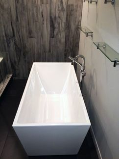 Captivating Delta Faucet DT4759FL Trinsic Clawfoot Tub Faucet Freestanding Wyndham  Collection Hannah 59 X 29.5 Soaking Bathtub Freestanding   For The Home    Pinterest