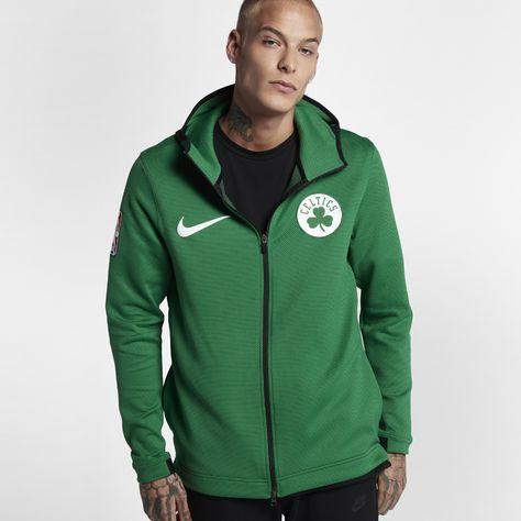 cec5298184e Boston Celtics Nike Therma Flex Showtime Men's NBA Hoodie Size Medium  (Green)