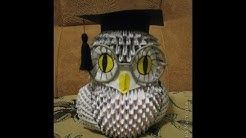 How to make a 3D origami owl - YouTube   138x246