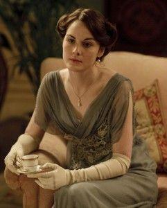 such gorgeous downton abbey clothing. lush fabrics!