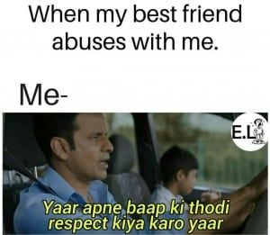 25 Hilarious Memes From Manoj Bajpayee S The Family Man Some Funny Jokes Friendship Quotes Funny Funny Baby Memes