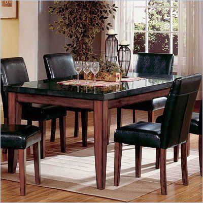Steve Silver Company Bello Granite Casual Dining Table In