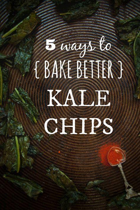 {never} homemaker: Bake Better Kale Chips