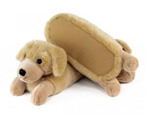 Golden Retriever Slippers Funky Shoes Slippers
