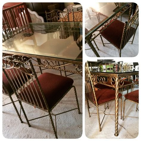 For Sale Classic Glass Dining Table For 6 Pension Good Condation Price 70 Bd للبيع طاولة طعام كلاسك زجاج بحال Glass Dining Table Dining Table Home Decor