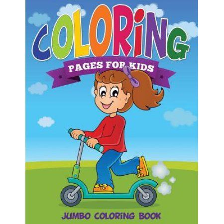 Fabulous Jumbo Coloring Book