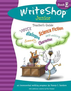 """""""This is an amazing and affordable program. Julia and I had so much fun creating a fable and writing an adventure story."""" {Thou Shall Not Whine: WriteShop Junior Book E Review }"""