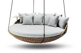 Suspended Round Outdoor Lounge Google Search Hanging Daybed Daybed Outdoor Lounge