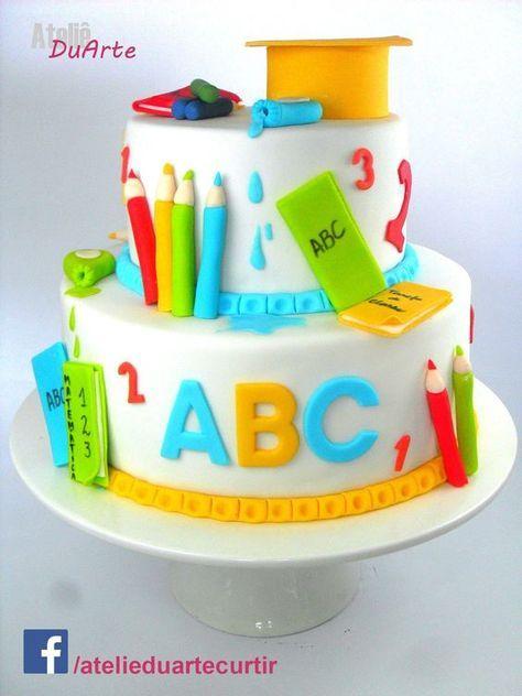 Pin Von Marie Barrionuevo Auf Egresados Preescolar Mit Bildern Kuchen Einschulung Lehrer Kuchen Torte Einschulung