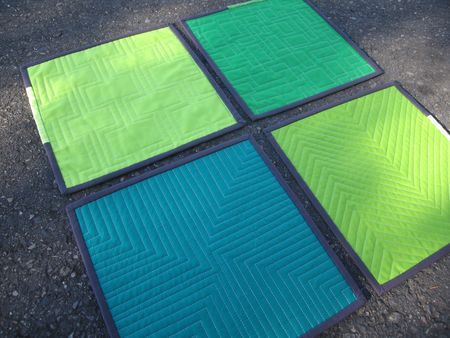 Straight line quilting by Oh Franson