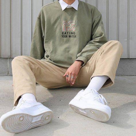 Men's Modern Casual Printed Color Long Sleeve Sweatshirt