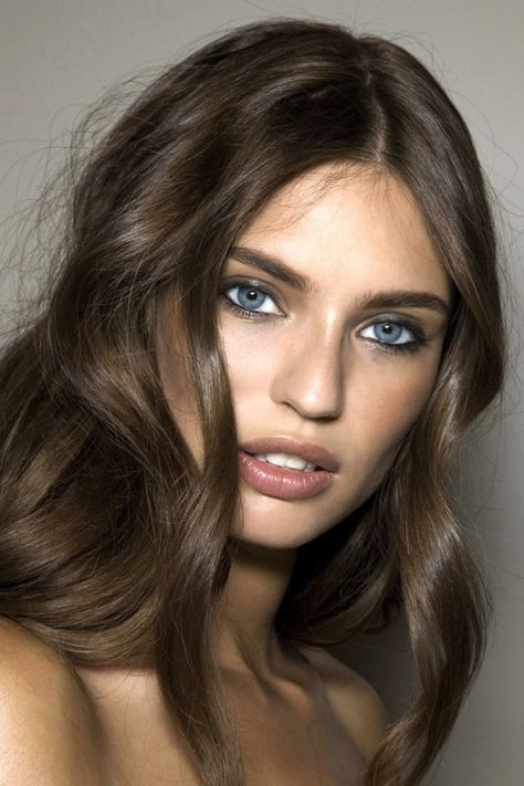 Bianca Balti backstage at Blumarine S/S 2010