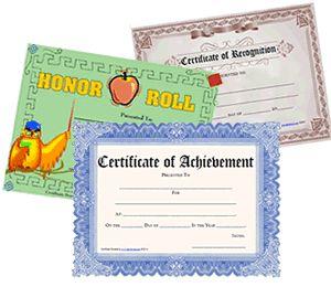 list of pinterest certificate award design free printable images