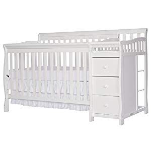 4 Svitlife 5 In 1 Brody White Convertible Crib With Changer Convertible Changer 1 Crib 5 White Dream Me Baby Chloe Nursery Cribs Convertible Crib Dream On Me