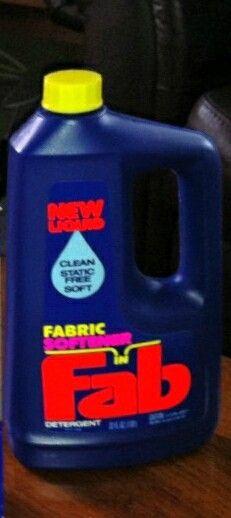 Oh Fab Liquid Detergent Bottle 1987 Organic Laundry Detergent