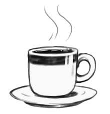 Image Result For Hot Coffee Clipart Black And White With Images