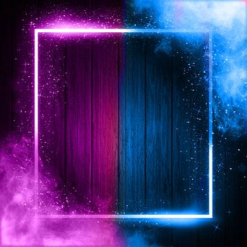 Futuristic Neon Light Frame With Smoke Neon Futuristic Blue Png Transparent Clipart Image And Psd File For Free Download Iphone Wallpaper For Guys Neon Light Wallpaper Neon Wallpaper