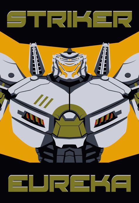 Pacific Rim - Striker Eureka Poster - Jaeger