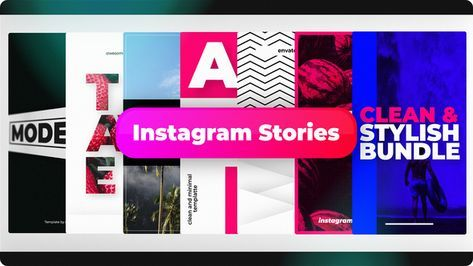 Instagram Stories App Banner Blog Corporate Ecommerce Insta Story Instagram Intro Marketing Post Design Promotion Sale Social Media Titles Youtu