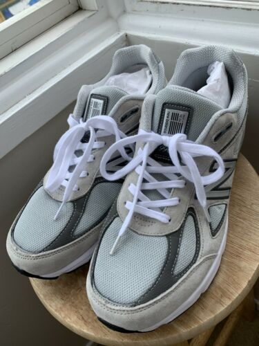 Size 10 5 Shoes Balance Men S Running Shoe Grey 990v4 M990gl4 Running Shoes For Men Running Shoes Grey Man Running