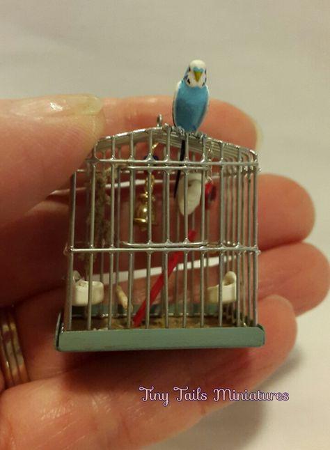Tiny Tails Miniatures, Miniature Birds, Butterflies, Animals, Ornaments, Bowls, Jugs etc. - Specials and OOAK