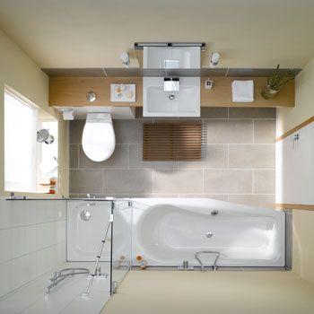 Raumspar Badewanne Mit Dusche