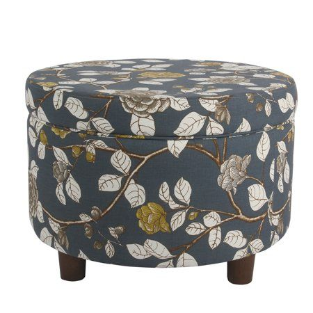 Fantastic Homepop Round Storage Ottoman In 2019 Furniture Round Ocoug Best Dining Table And Chair Ideas Images Ocougorg
