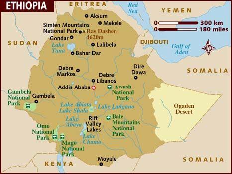 Moyale Ethiopia Map Pinterest