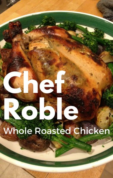 """Chef Roble's Whole Roasted Chicken recipe is so good it was even featured on an episode of """"Empire!"""" He joined Dr Oz to reveal how you can make it yourself at home."""