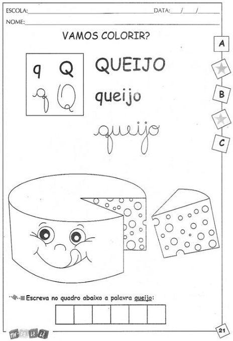 Alfabeto Ilustrado Com Atividades Para Imprimir E Colorir