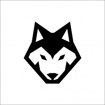 Wolf Head Icon Logo Vector Logo Icons Wolf Icons Head Icons Png And Vector With Transparent Background For Free Download Geometric Wolf Minimalist Icons Animal Icon