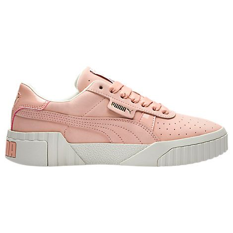 PUMA WOMEN'S CALIFORNIA NUBUCK CASUAL SHOES, ORANGE. #puma