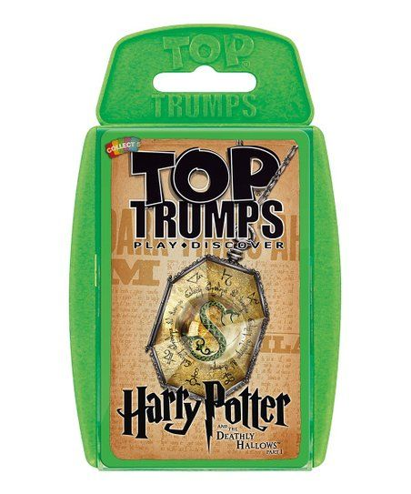 Harry Potter Deathly Hallows Ii Top Trumps Card Game Zulily Top Trumps Harry Potter Tops Deathly Hallows Part 1