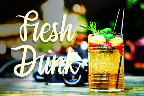 Fresh Drink (Font) by K_IN Studio · Creative Fabrica