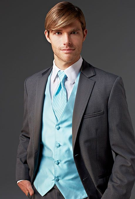 Match your #prom date\'s dress in a Calvin Klein Two-Button Super ...